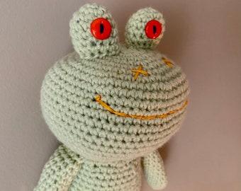 Handmade Crochet Amigurumi Frog
