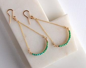 Turquoise Smile Earrings