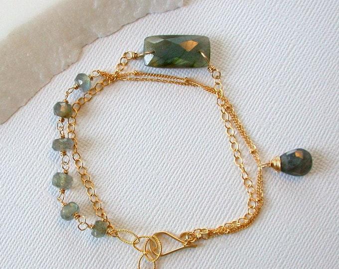 Artisan Labradorite Bracelet
