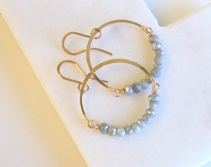 Silverite Hoop Earrings