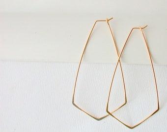 Hoops/All Metal Earrings