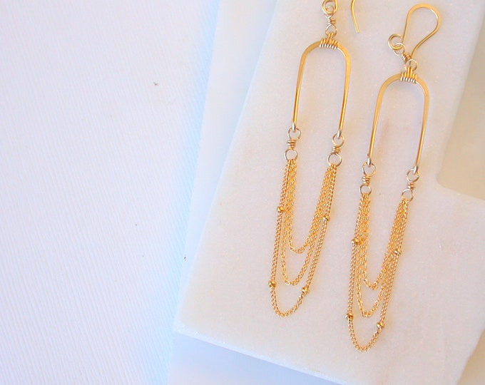 Aphrodite Cascade Earrings