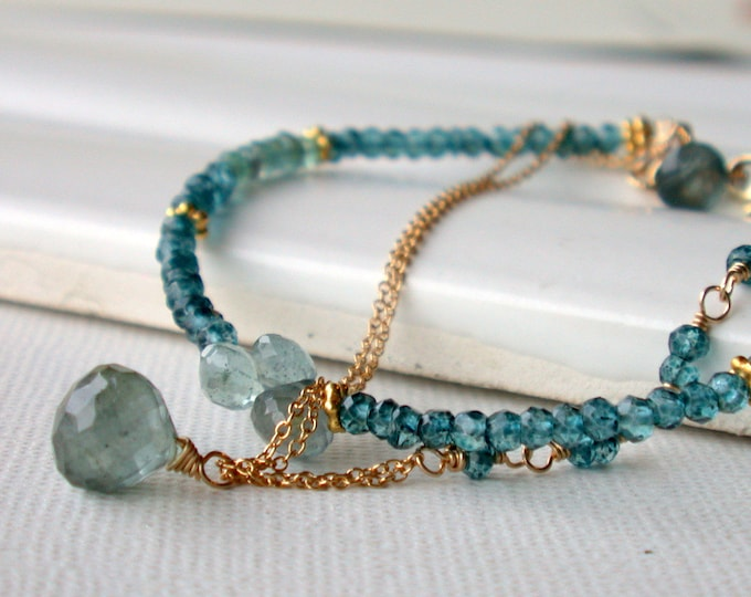 Seaside Gemstone Bracelet