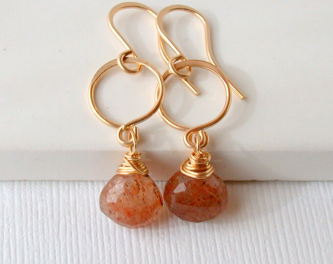 SALE! Sunstone Dangles