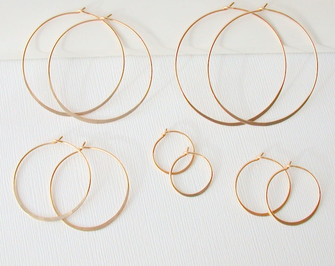 NEW DAY SALE! Round Hoops