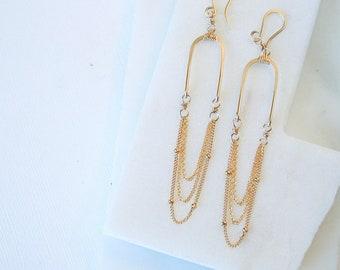 Aphrodite Cascade Earrings