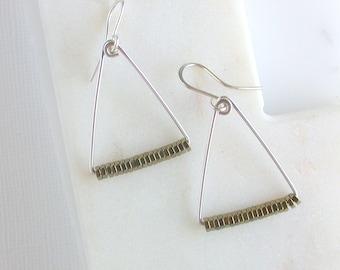 Minimalist Pyrite Triangle