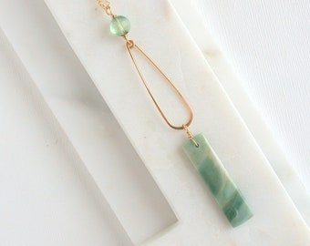 Green Mountain Jade Pendant
