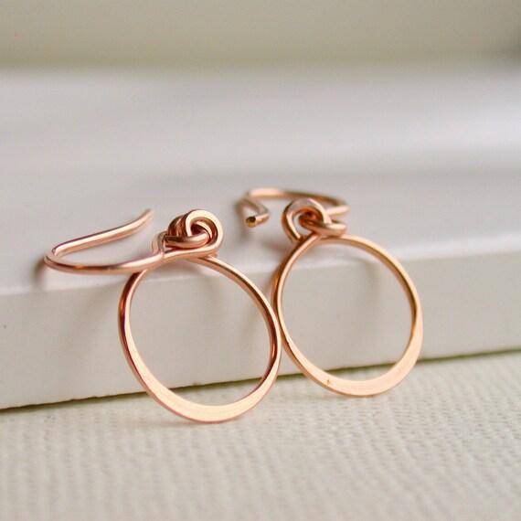 Petite Hoop Earrings