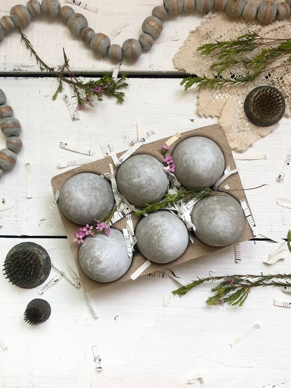 Concrete Easter Eggs Decorative Eggs Farmhouse Decor cement eggs Easter Gift Easter table FREE SHIPPING