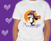 CAT T-SHIRT. Moonflight. ...