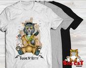 CAT T-SHIRT. Frank N Kitt...