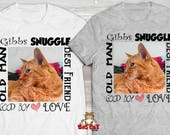 PERSONALIZED  CAT TSHIRT-...