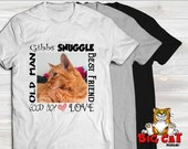 CUSTOM T-Shirt, Personalized Pet shirt, Custom made Pet T-shirt, Your picture - your words!  DTG not a transfer