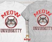 MEOW UNIVERSKITY Cat T-sh...