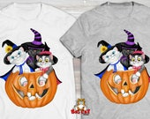 CAT T-SHIRT. Witching You...