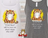 CAT TANK TOP - Talk to yo...