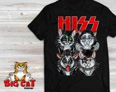 HISS Rock band Cats.  Bla...