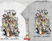 AND ANOTHER Cat T-shirt. ...