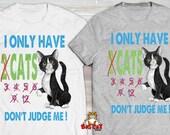 DONT JUDGE ME Cat T-shirt...
