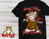 Freddy Mewger Cat.  Black...