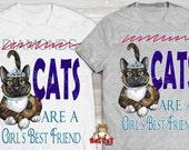 CATS are a GIRLS best FRI...