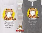 CAT TANK TOP - Talk to yo...