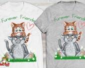FUREVER FRIENDS.  Gray Ca...