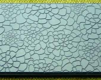 DAHLIAS FINELINE Texture Rubber Stamp TTL-185