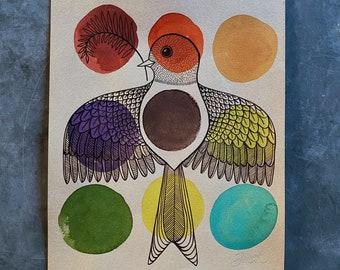 Palette Bird