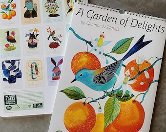 Garden of Delights 2021 calendar