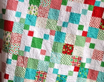 Rocky Road QUILT PATTERN.... Quick and Easy...one Layer Cake ...PDF Version