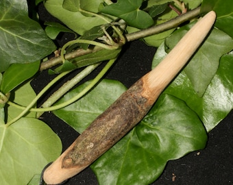 Beech Wood  Wand Pendant - Knowledge - For Pagans, Wiccans, Witches, Ritual, Magic - RARE