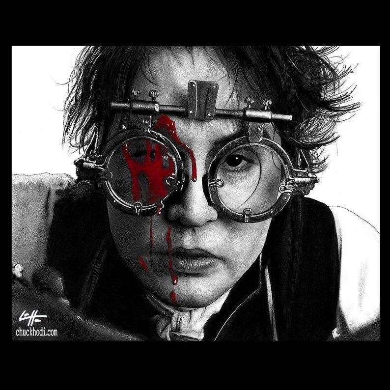 0f4595aa10f Print 8x10 Ichabod Crane Sleepy Hollow Johnny Depp