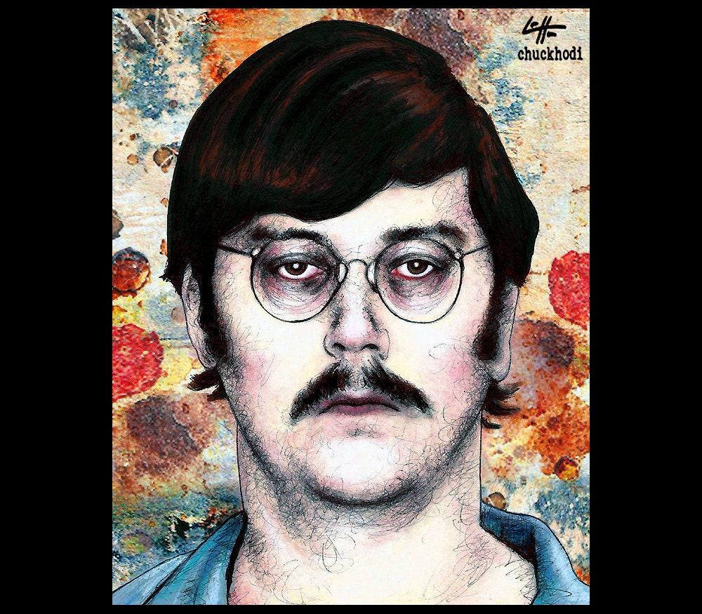 Print 8x10 Edmund Kemper Co-ed Killer Serial Killer