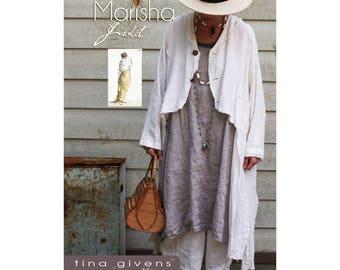 Tina Givens MARISHA JACKET Printed Sewing Pattern