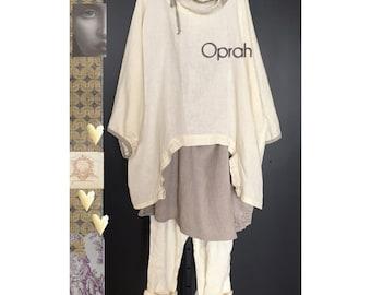 Tina Givens OPRAH Box Top & Slim TG-A3121 Pant Printed Sewing Pattern