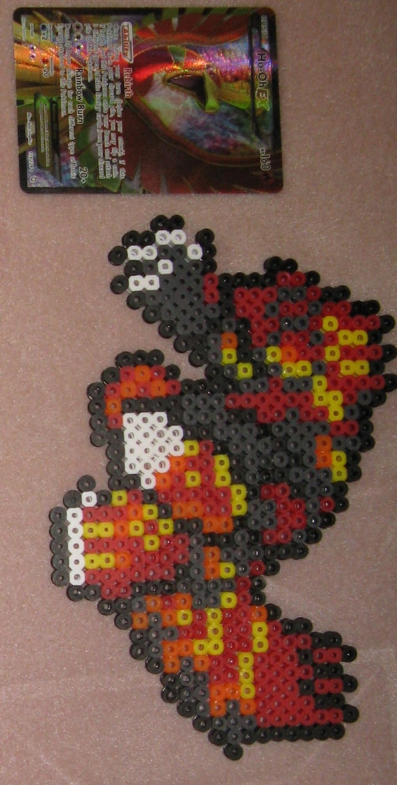 Items Similar To Pokemon Perler Beads Primal Groudon Sprite