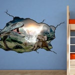Dinosaur Wall Decal - T-Rex Kids Bedroom