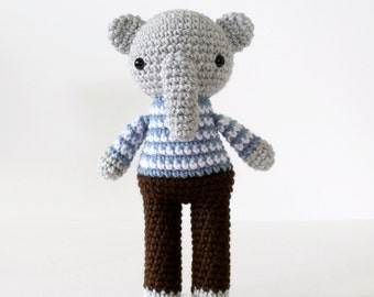 stuffed plush toy elephant .. elliot