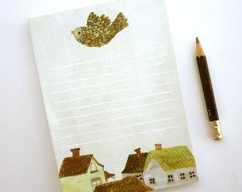 Village Notepad Illustrated stationery
