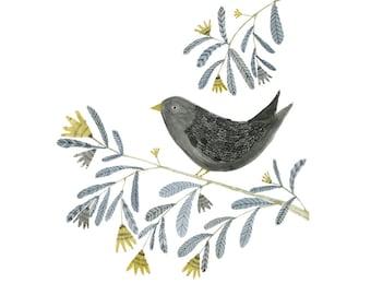 Art print - Bird on a Branch
