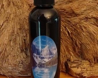 4 fl oz Eau Fraiche Body Spray, with Organic Acacia Senegal Gum, Clean Scents, Men's Scents, Herbal Scents, Mint Scents