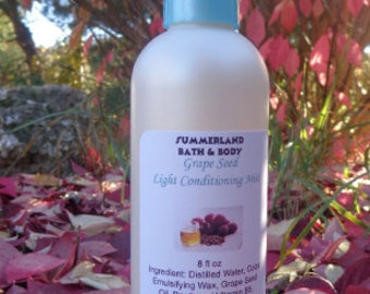 8 fl oz Grape Seed Light Conditioning Mist, Lush Scents, Woman's Scents, Food Scents, Fruit Scents