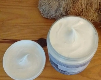 8 oz Shaving Cream Cold Cream Whipped Soap, Now Palm Free, Clean Scents, Mens scents, Mint, Herbal, Warm/Earthy, Holiday