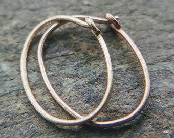 16g 18g 20g 22g Nose Ring Belly Ring Endless Hoop Septum Tragus Helix Rook Conch Lip Earring Blue Niobium Heart Seamless Ring -14g