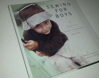 Sewing For Boys 24 Handmade Projects Book