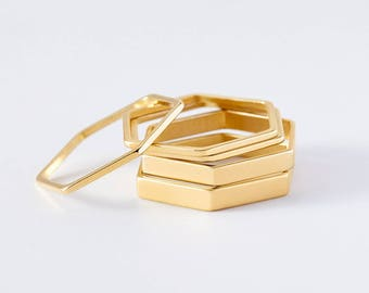 honeycomb stacking rings