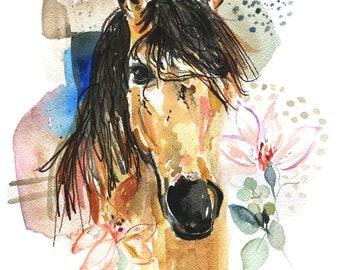 Beauty - Original Watercolor