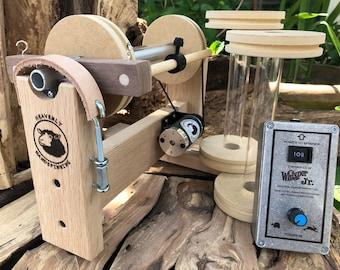 Oak Vespera E spinner and Whisper Jr. Controller, No treadling a wheel ever again-Free US Shipping